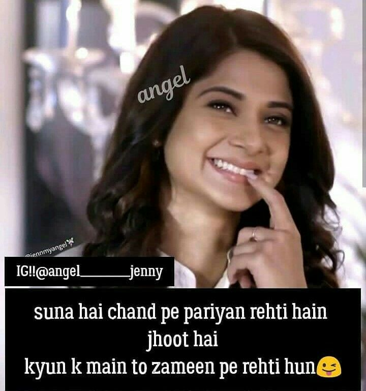 Pin By Sanam Khan On Girls Attitude Girly Quotes Funny Quotes Jennifer Winget