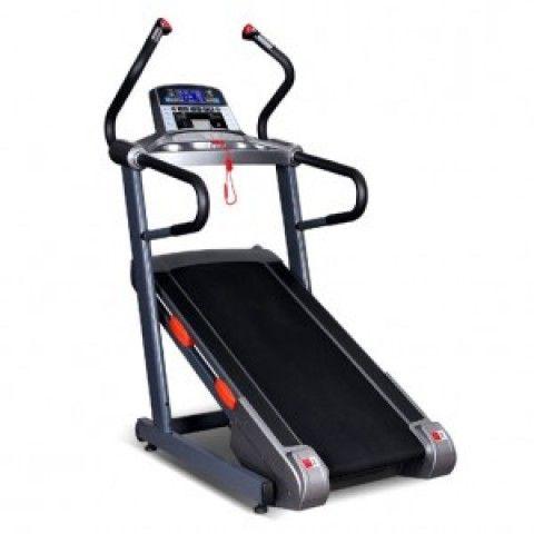VIKING M500 HILL CLIMBER Διάδρομος Γυμναστικής Από τη νέα σειρά της Viking, ένας διάδρομος για πρώτη φορά στην Ελλάδα και μοναδικός στο είδος του. Ένα μηχάνημα 2 σε ένα που μπορεί να χρησιμοποιηθεί σαν διάδρομος γυμναστικής ή σαν cross trainer/mountain climber, αφού φτάνει στο απίστευτο επίπεδο κλίσης 40%.