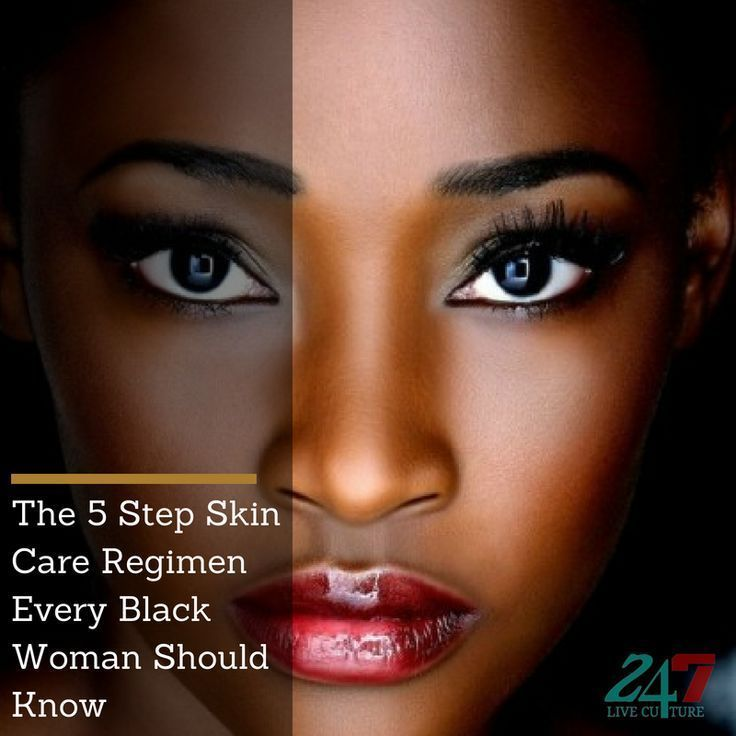 Skin Care Regimen For Black Women Womensskincareproducts In 2020 Natural Anti Aging Skin Care Skin Care Pores Black Skin Care