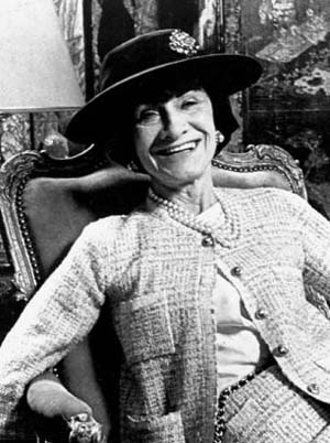 No. 1 style icon of all times. Coco Chanel.