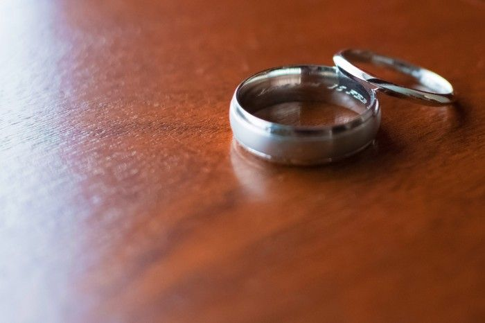 Wedding bands - by Destiny Photography