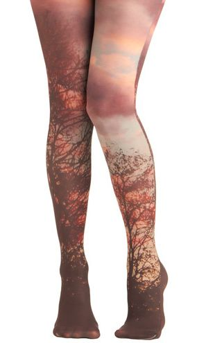 39 Pairs Of Statement Tights Just In Time For Fall - 8. Lay of the Woodland Tights, $39.99