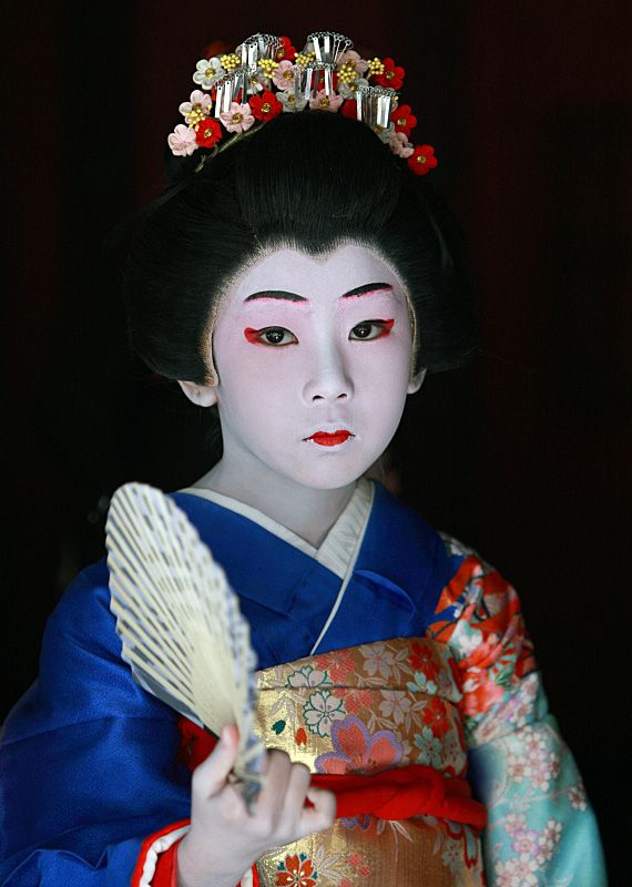 "Ibi festival  ""KABUKI"" by children #Japan #gifu"