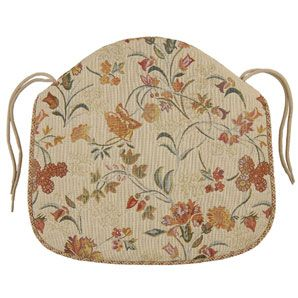Castel Seat Pad, Gold This foam seat pad has a cover with a traditional tapestry-effect floral design and fastens to the chair with beige coloured cord ties. With piped edge. http://www.comparestoreprices.co.uk/other-products/castel-seat-pad-gold.asp