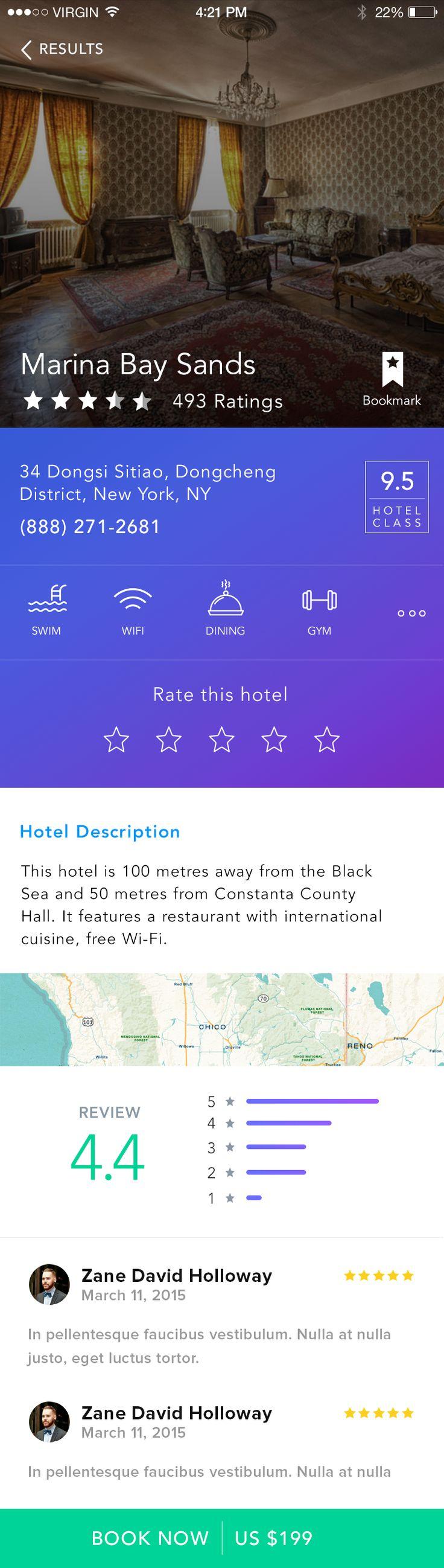 Hotel detail