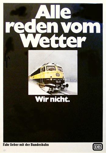 Deutsche Bahn - Print Ad