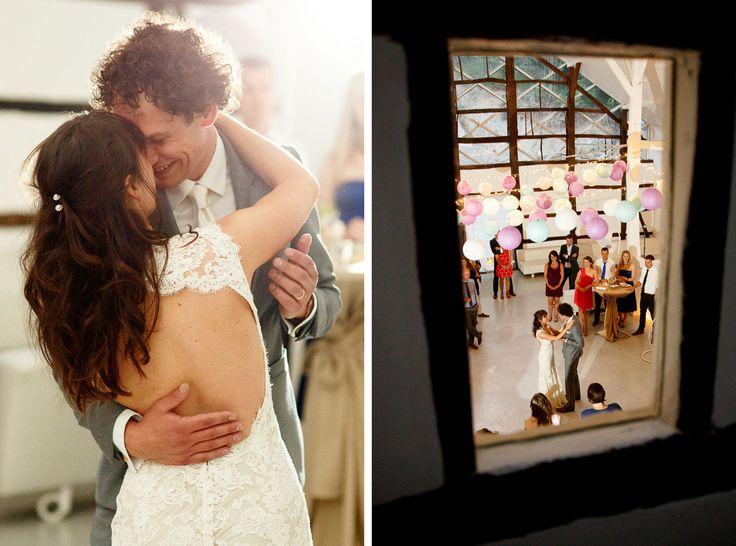 De eerste dans van dit bruidspaar vindt plaats bij Sech'ry in België.