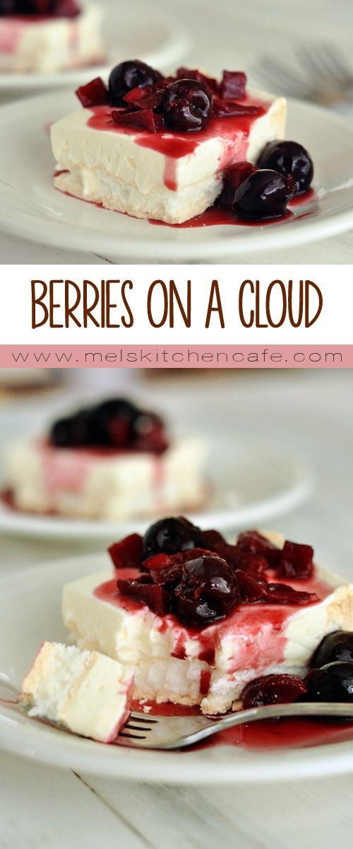 Berries on a Cloud {Best Dessert of the Summer!}