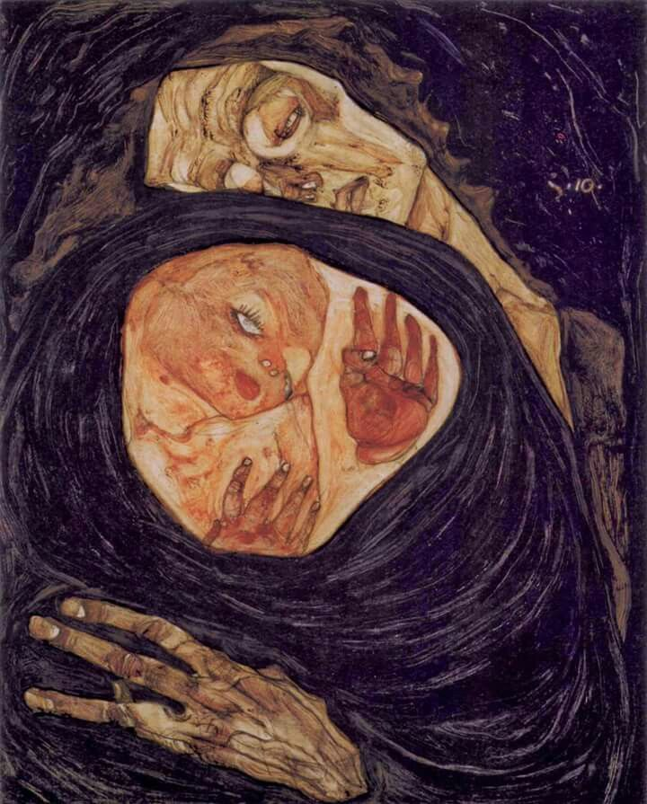 Egon Schiele- Dead Mother