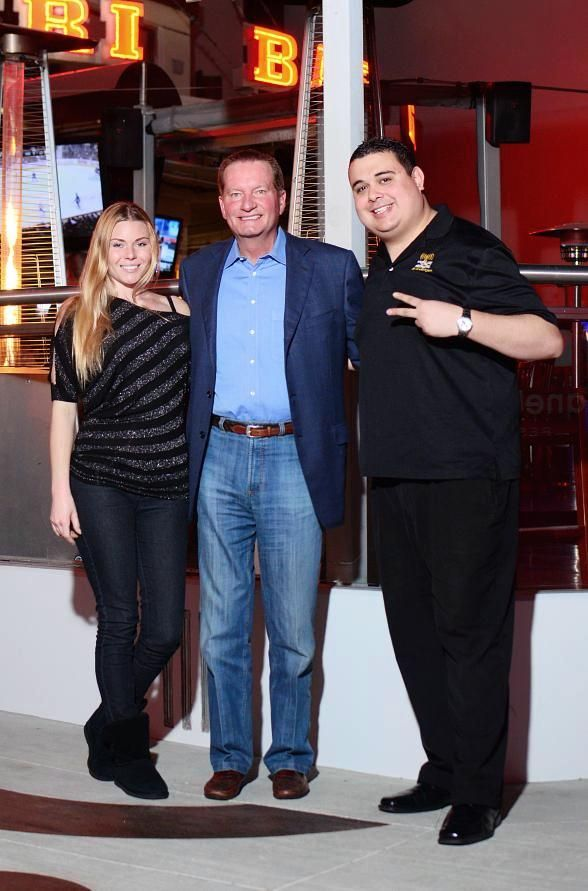 Jim Fassel Goes 'On Air with Robert & CC' at PBR Rockbar in Las Vegas