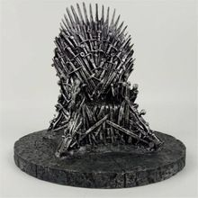 US $34.99 Game of Thrones action figure Toys Sword Chair Model Toy Song of Ice and Fire The Iron Throne Desk Chirstmas Gift 17cm. Aliexpress product