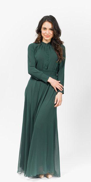 full length sleeve maxi dress | Mode-sty tznius muslim islamic pentecostal mormon lds evangelical christian apostolic mission clothes hijab fashion modest
