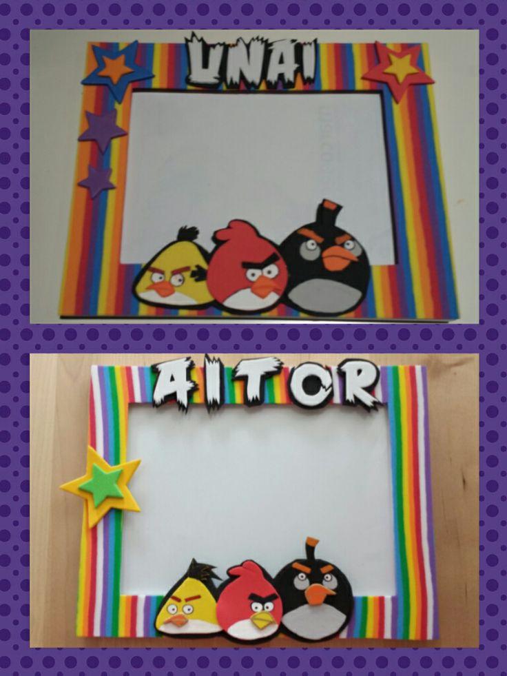 Marco personalizado Angry birds
