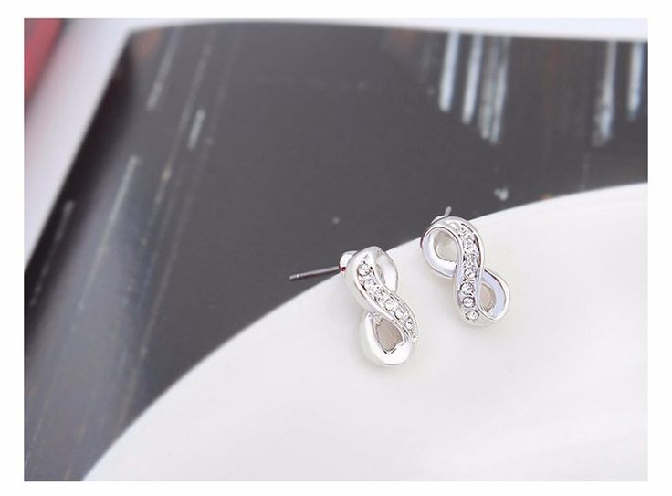 Adorable Infinity Earrings   Visit our shop👉 www.8-jewelry.com