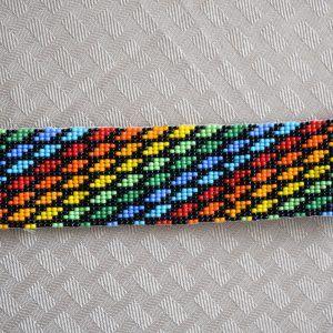 Colombian Glass Bead Headband (BH092) | Little Colibri