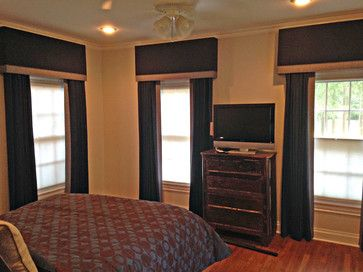 Valances - transitional - Curtains - Dallas - Kite's Interiors