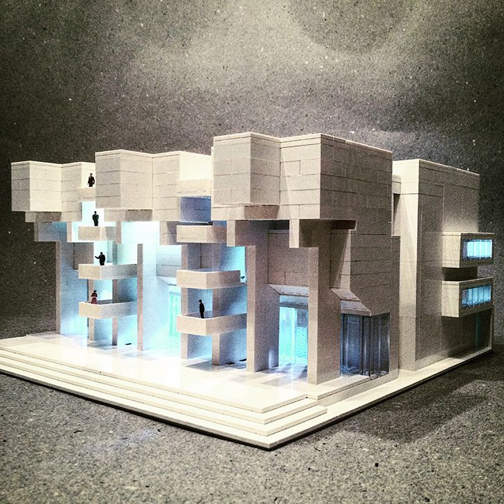 Modern Architecture Lego 268 best lego batiments images on pinterest | lego architecture