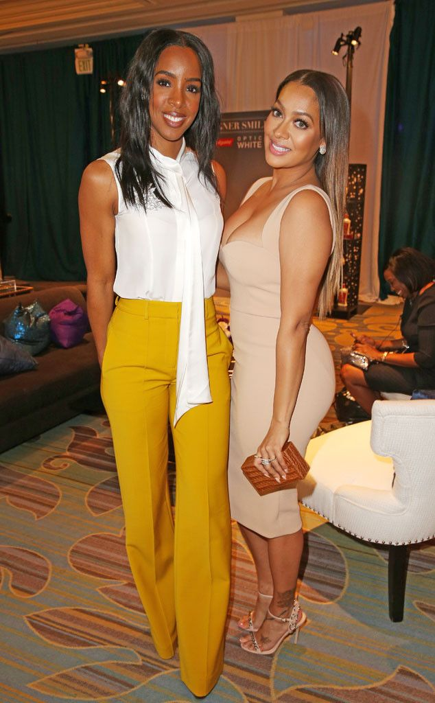 Kelly Rowland & Lala Anthony from Oscars 2016: Party Pics  The gorgeous gals enjoy Essence Black Women In Hollywood awards luncheon.