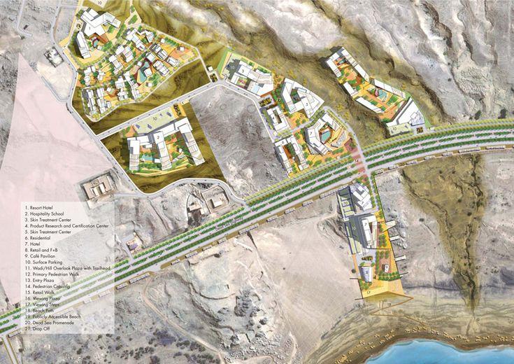 Dead Sea Development Zone Detailed Master Plan – Sasaki Associates, Inc
