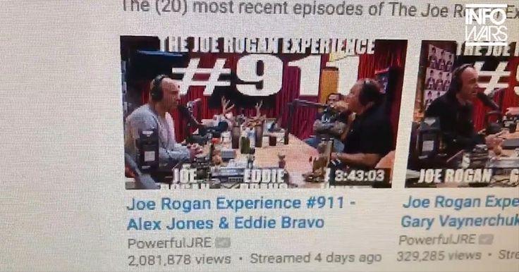 Proof Apple / iTunes Are Censoring Joe Rogan Alex Jones Podcast #911 Over Pizzagate