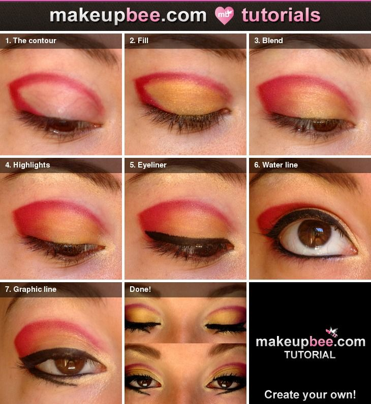 Step-By-Step Tutorial for Crazy bridal makeup looks ...