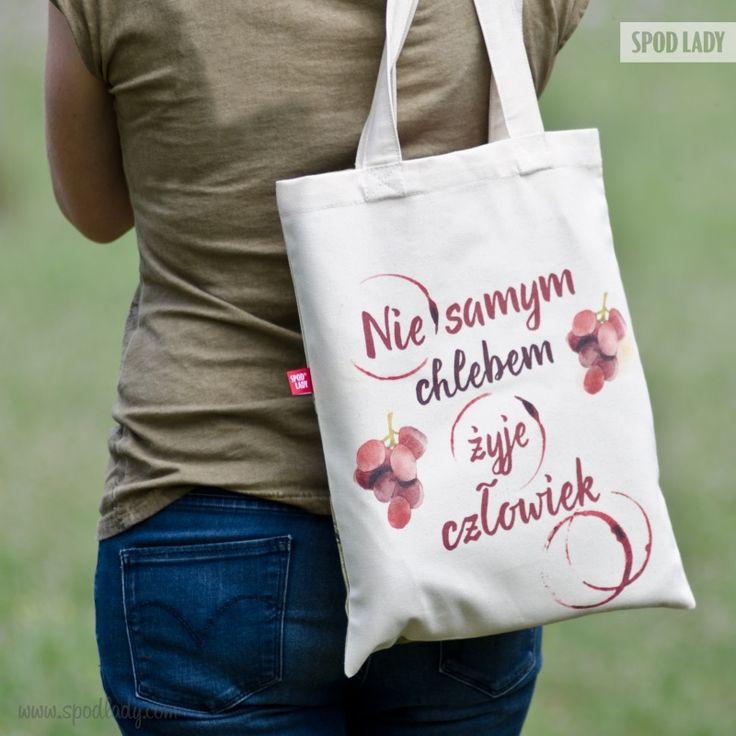 Nieważne czym żyjesz poza chlebem, zmieścisz to w tej torbie. ;)