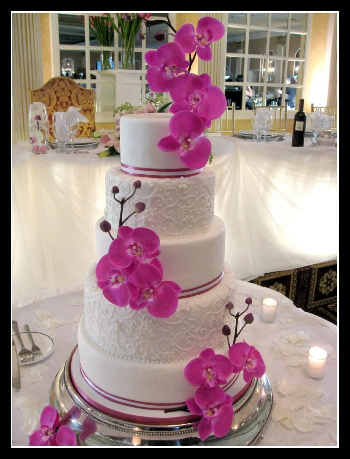 I know I didn't get a wedding cake for my first marriage but this is how it would have looked if I had wanted one!