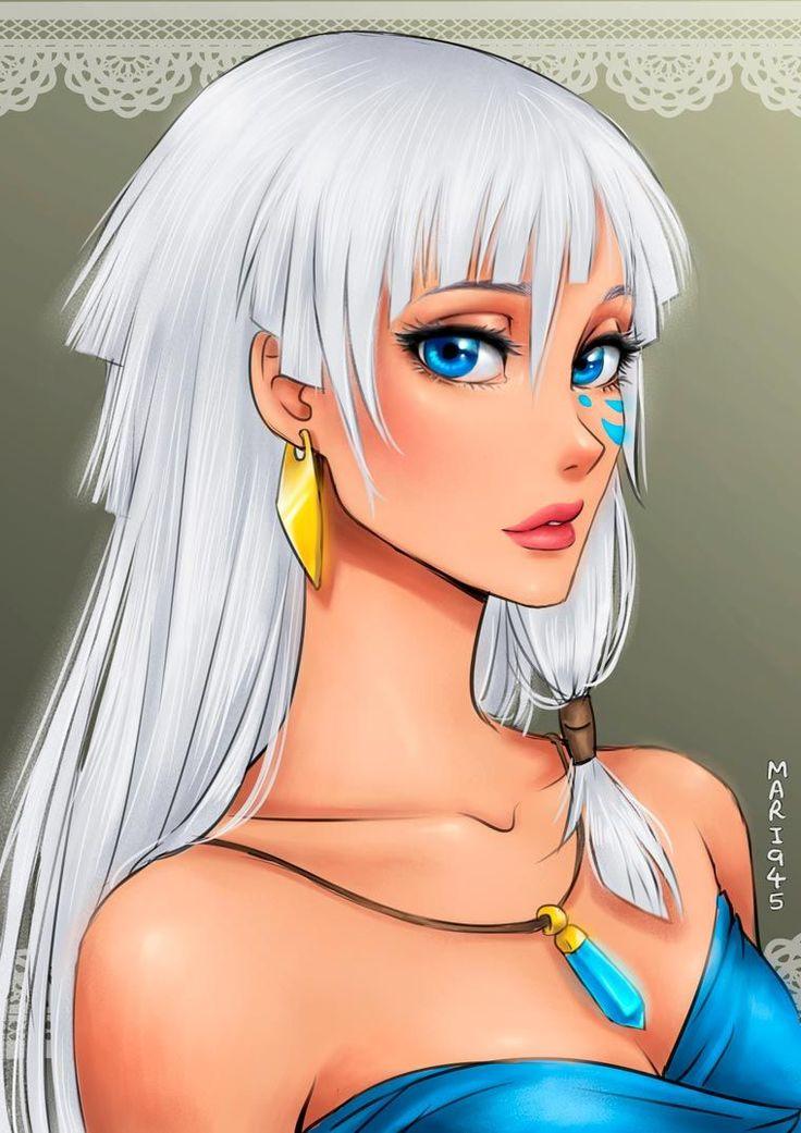 Si les Princesses Disney étaient des princesses de manga