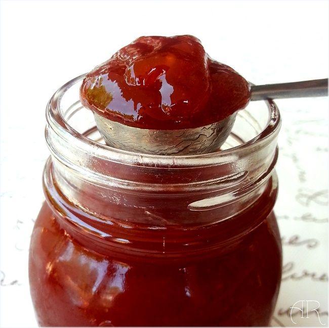 Arca de Recuerdos (cocina y manualidades): Mermelada extra de tomates (Receta artesana)