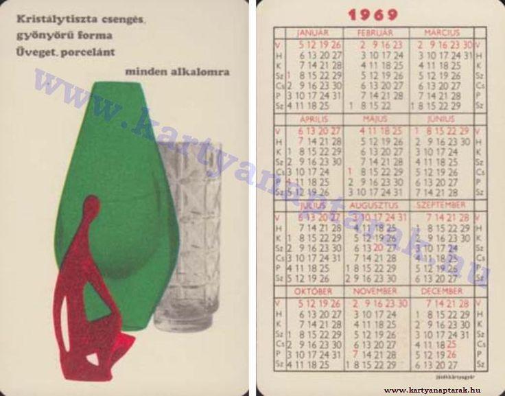1969 - 1969_0318 - Régi magyar kártyanaptárak
