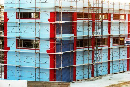 Τιμές σκαλωσιών για μπαλκόνια
