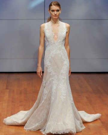 Alyne by Rita Vinieris Fal 2016 Wedding Dress Collection | Martha Stewart Weddings