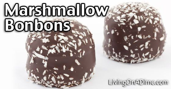 This marshmallow bonbons recipe makes an easy and tasty Christmas candy everyone will love! It's great for parties, company or treats for kids!