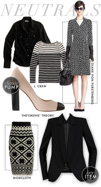 neutral fall closet by what i wore [and I want my job back now...]