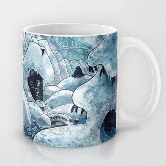 Winter in The Moomin Valley Mug
