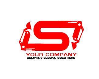 logo s excavator Logo design - logo s excavator Price $110.00