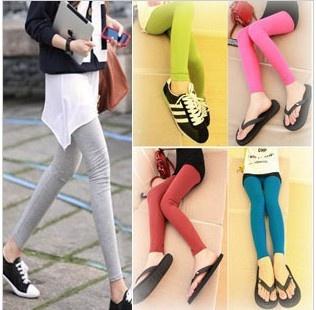 frete grátis modal mulheres tornozelo comprimento calças estilo slim pencl leggings calças calças das