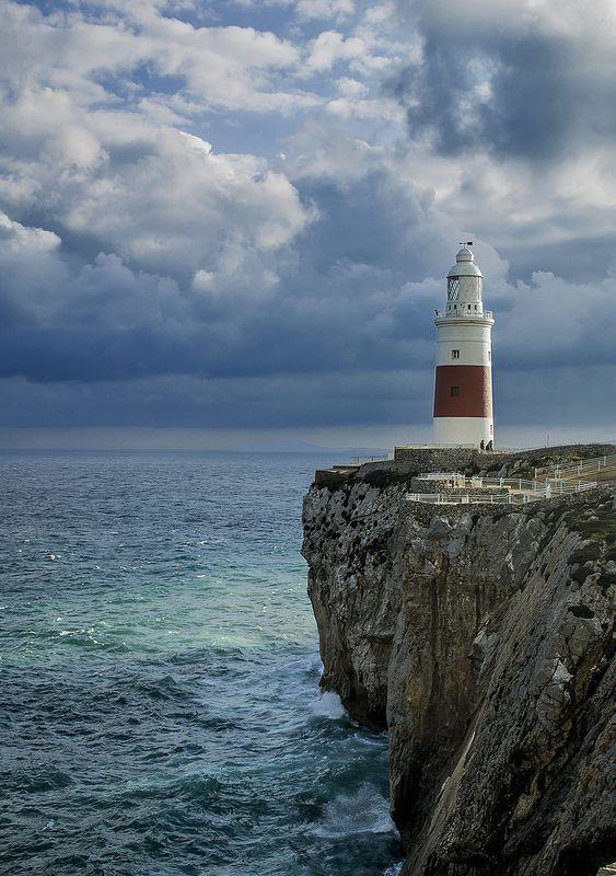 Lighthouse ~ The Strait of Gibraltar