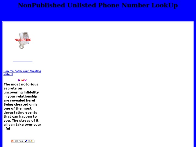 How to get an unlisted cell phone number