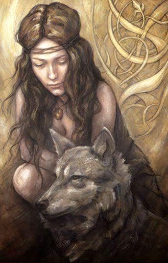 Strength - Tarot of the Hidden Realm