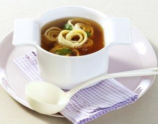 #Zupa z naleśnikami