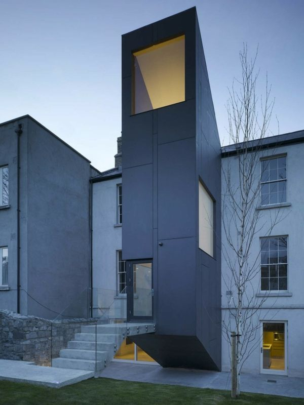 Architektur minimalistisches haus in irland modern art for Minimalistisches haus