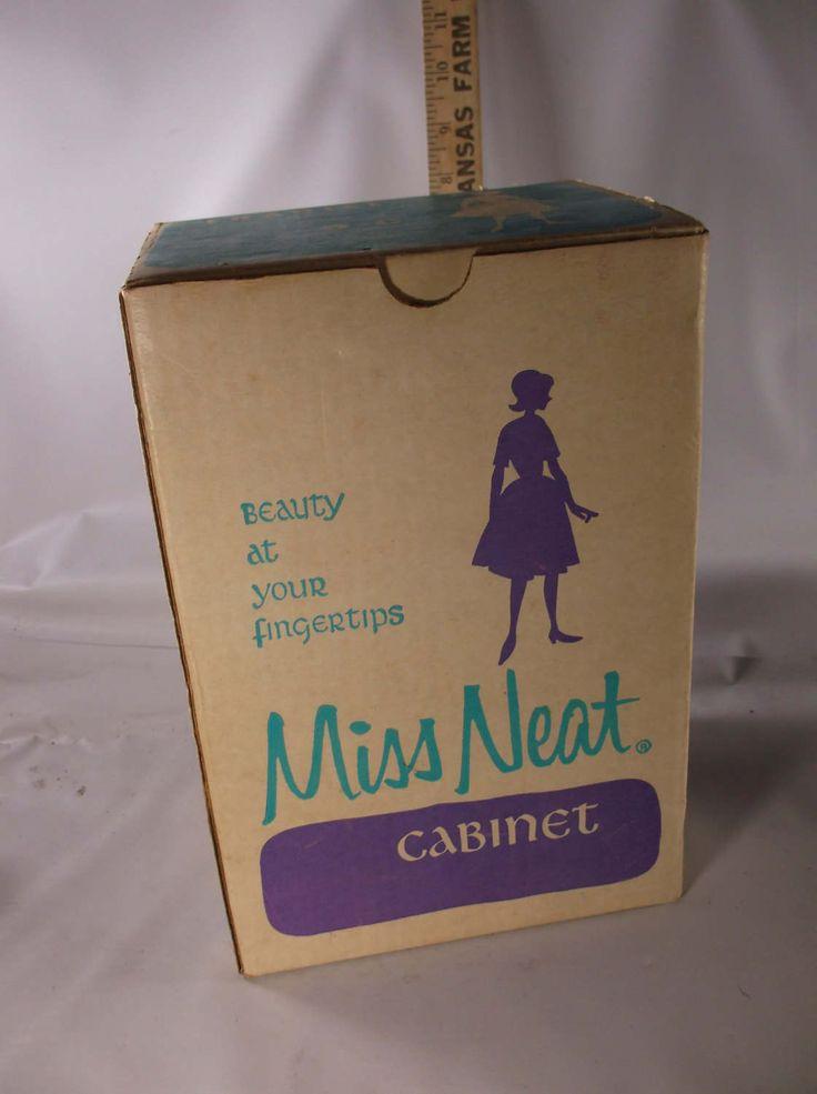 Vintage Akro-Mils Miss Neat Plastic Storage Cabinet w/Drawers Mid Century Vintage New Old Stock . epsteam by retroricks on Etsy