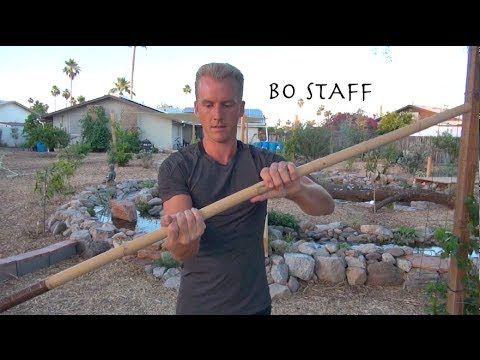 Top Ten BO STAFF Techniques of Kung Fu - Incredible!