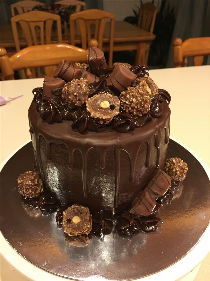 Nutella drizzle cake