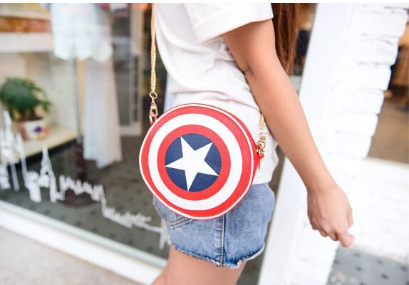Captain America Bag! What can be more AWESOME?