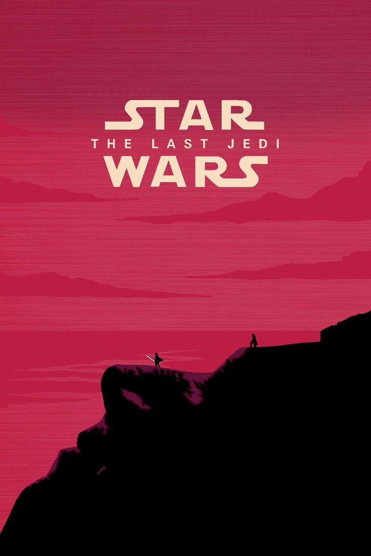 Star Wars, affiche Star Wars, Le dernier Jedi, Episode VIII, Le dernier Jedi, Affiche …   – Star Wars Geekery