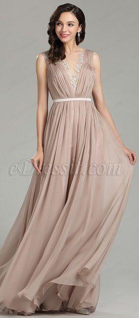 fb38263f49 Pretty Blush Long Fashion Designer Dress (00181246)