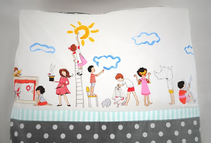 Cotton bedlinen for kids.Designed and made by Pracownia Lollipop. https://www.facebook.com/PALollipop
