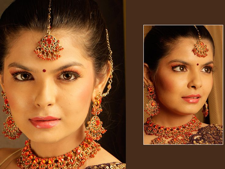 One of a kind #BridalMakeup done at Anushka Salons for a photoshoot. #AnushkaBrides. Avail a limited period special offer by booking a bridal makeup. Click on the image for more details